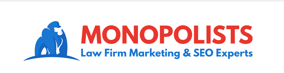 Logo for Monopolists Law Firm SEO Company