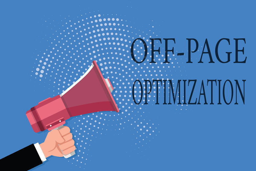 image with bullhorn depicting off-page optimization