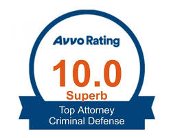 avvo rated 10 superb criminal defense attorney