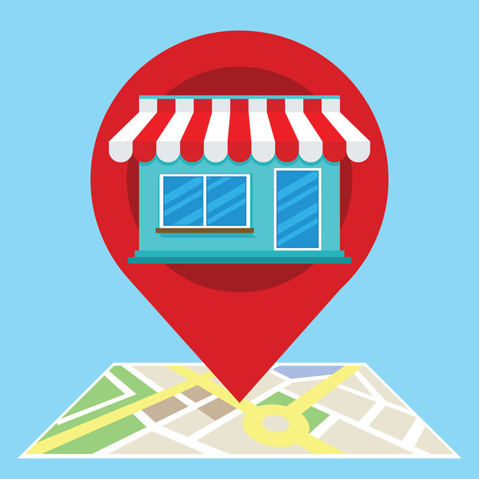 image representing search optimization for local businesses